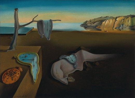 La persistance de la mémoire, par Salvador Dali