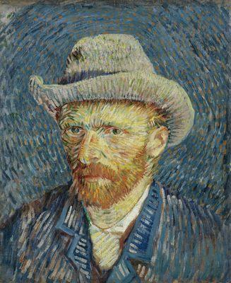 """"""" La Vie de Peintres Célèbres en Vidéo """" Vincent-van-gogh-autoportrait"""