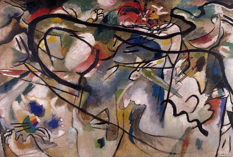 wassily kandinsky composition vii analysis essay