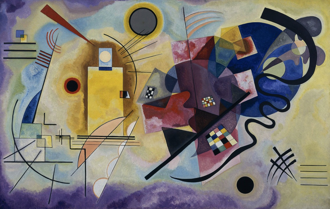 plusieurs cercles de kandinsky en 1926