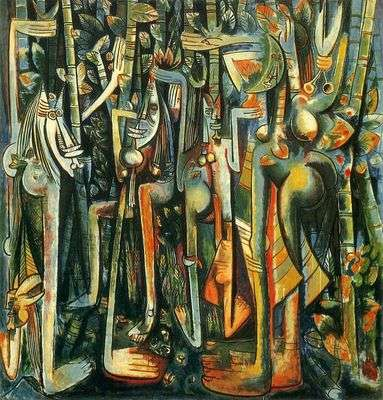 La jungle, par Wilfredo Lam