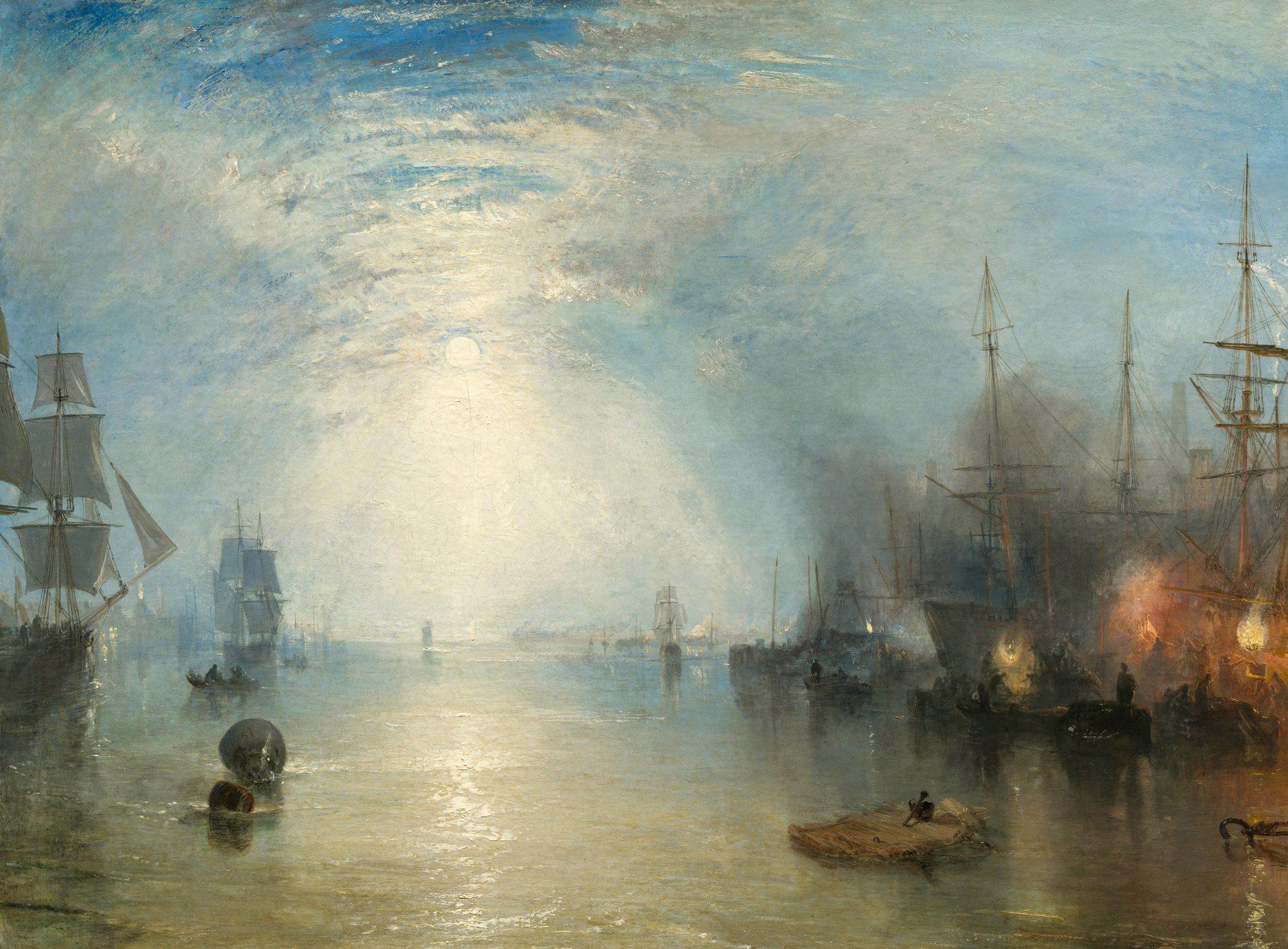 Famous william turner paintings for Tableau peinture