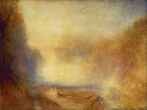 Chutes de Clyde, par William Turner