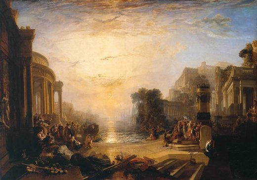 Le Déclin de l'empire carthaginois, par William Turner