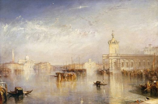 Venise : La Dogana - San Giorgio, par william turner