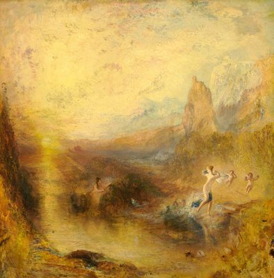 Glaucus et Scylla, par William Turner