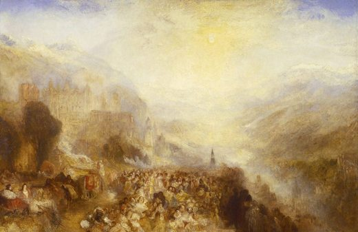 Heidelberg, par William Turner