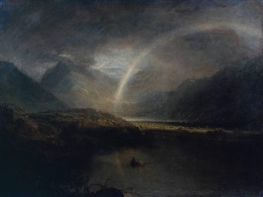Lac Buttermere, par William Turner