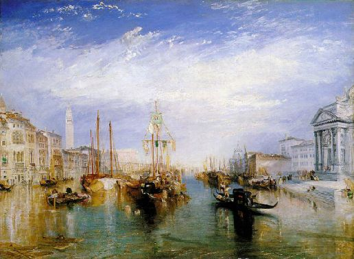 Le grand canal de Venise, par William Turner