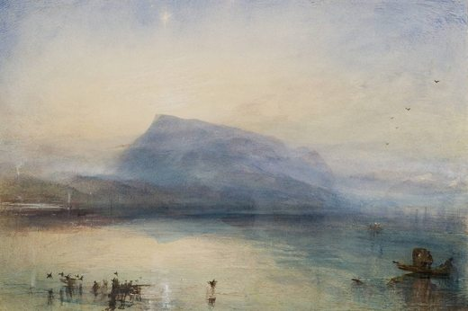 Le Rigi bleu, par William Turner