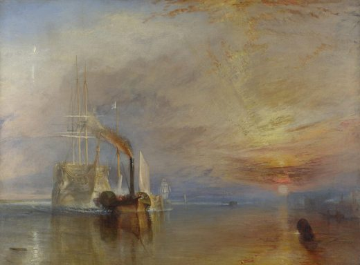 Le Téméraire, par William Turner