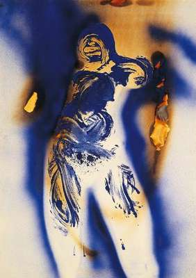 Anthropométrie 8, par Yves Klein