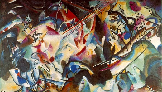 Wassily Kandinsky : Composition n°6